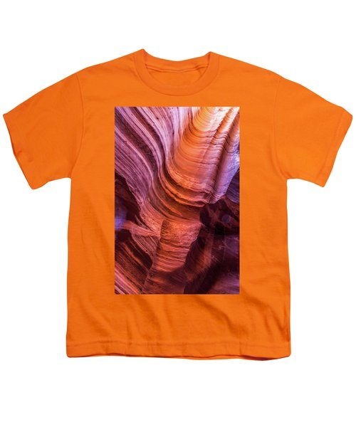 Waterholes Canyon Ribbon Candy Youth T-Shirt