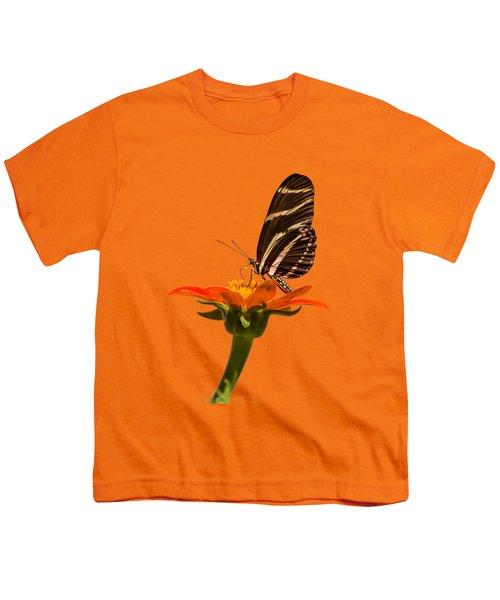 Zebra Longwing Youth T-Shirt