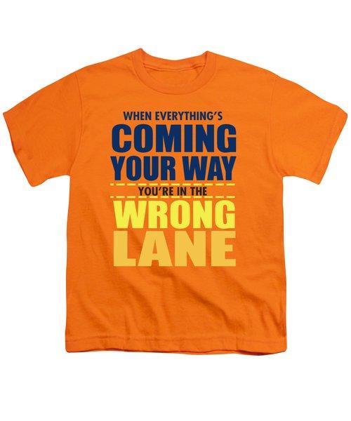 Wrong Lane Youth T-Shirt
