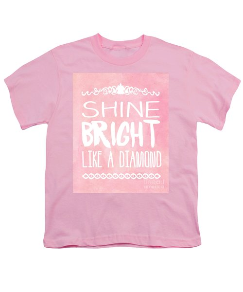 Shine Bright Youth T-Shirt by Pati Photography