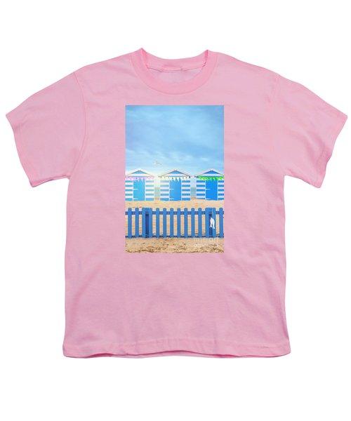 Beach Huts Youth T-Shirt