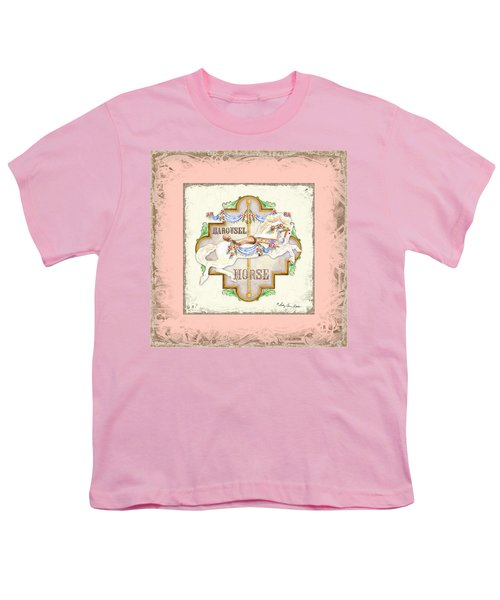 Carousel Dreams - Horse Youth T-Shirt