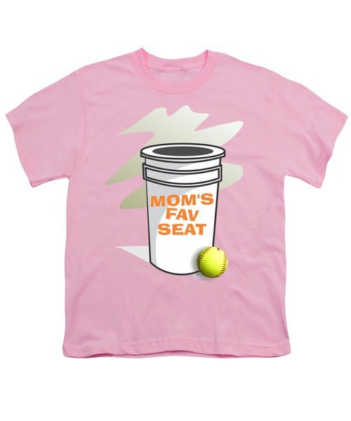 Mom's Favorite Seat Youth T-Shirt