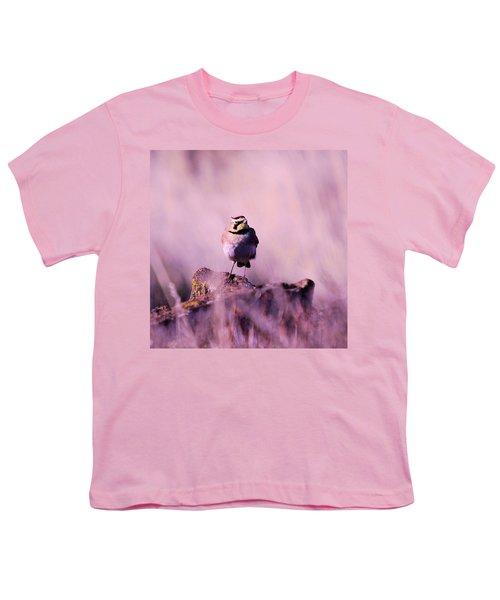 An Searching Gaze  Youth T-Shirt by Jeff Swan