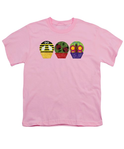 Animal Cupcakes 1 Youth T-Shirt