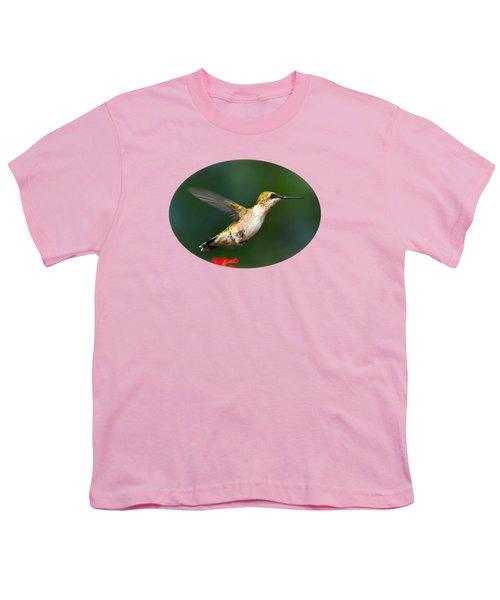 Summer Hummingbird Youth T-Shirt