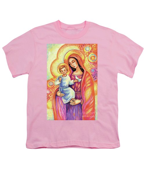 Youth T-Shirt featuring the painting Blessing Of The Light by Eva Campbell