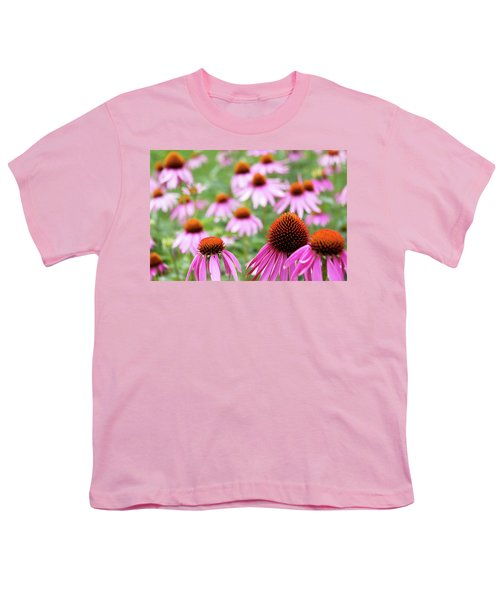 Youth T-Shirt featuring the photograph Coneflowers by David Chandler
