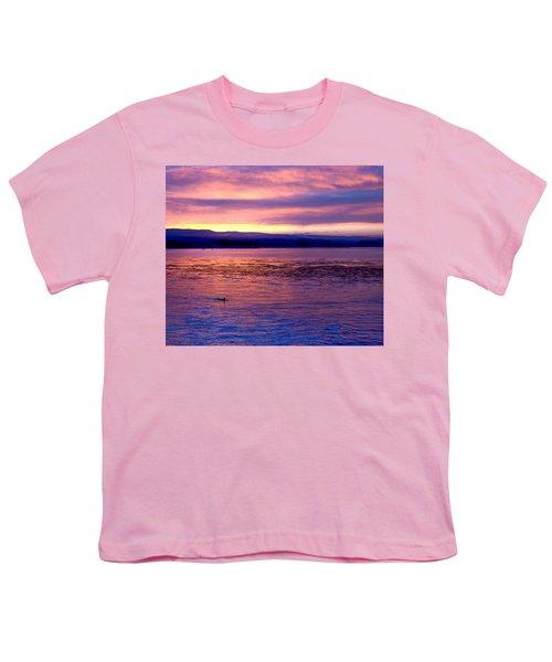 Dawn Patrol Youth T-Shirt by Lora Lee Chapman