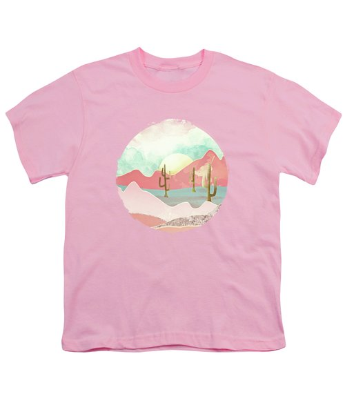 Desert Mountains Youth T-Shirt by Spacefrog Designs