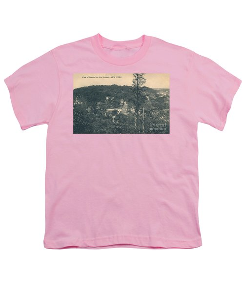 Dyckman Street At Turn Of The Century Youth T-Shirt by Cole Thompson
