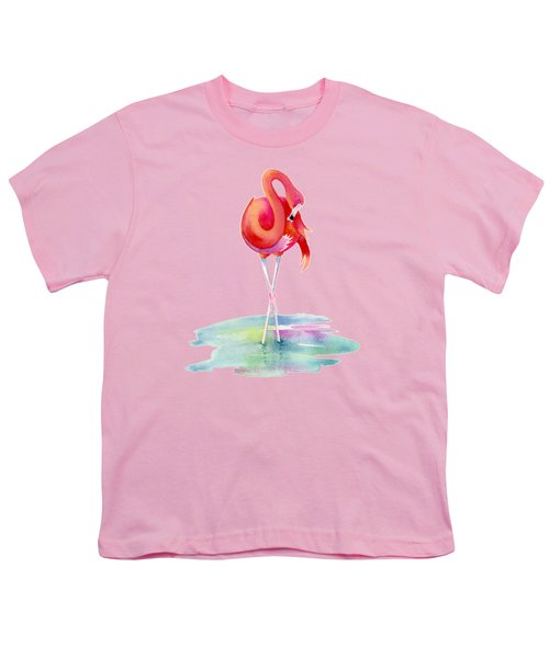 Flamingo Primp Youth T-Shirt