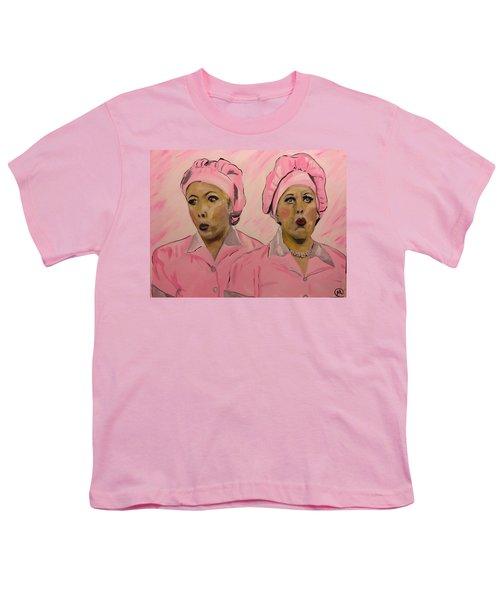 Friendship Factor  Youth T-Shirt by Miriam Moran