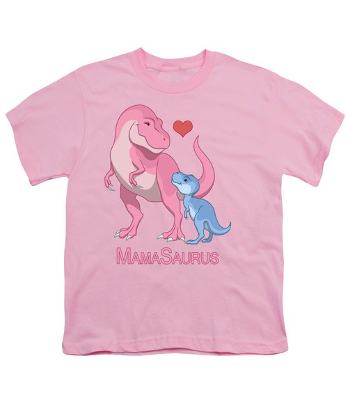 Mama Tyrannosaurus Rex Baby Boy Youth T-Shirt