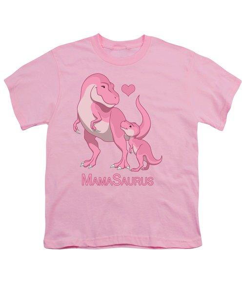 Mama Tyrannosaurus Rex Baby Girl Youth T-Shirt