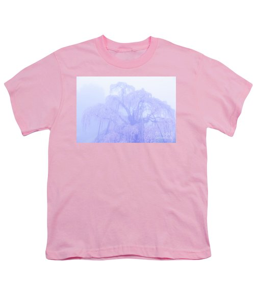 Miharu Takizakura Weeping Cherry01 Youth T-Shirt