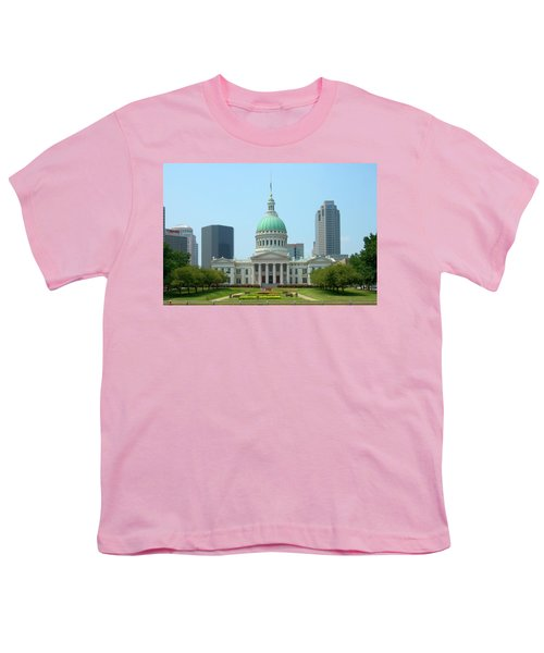 Missouri State Capitol Building Youth T-Shirt