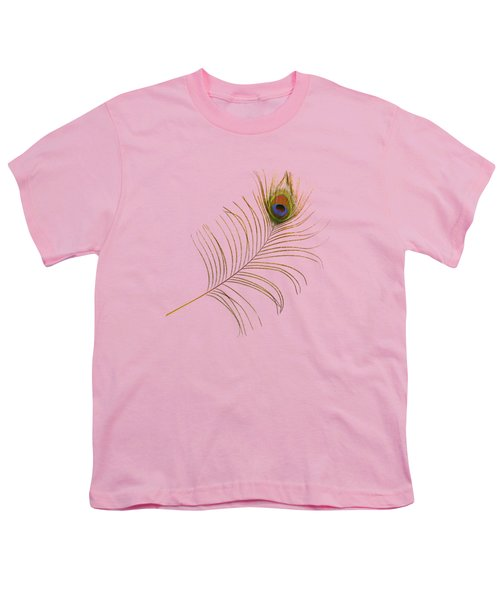 Peacock Feather Youth T-Shirt