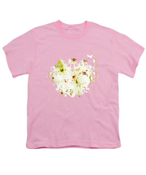Pretty Pear Petals Youth T-Shirt by Anita Faye
