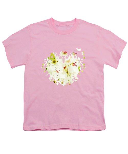 Pretty Pear Petals Youth T-Shirt by Anita Faye