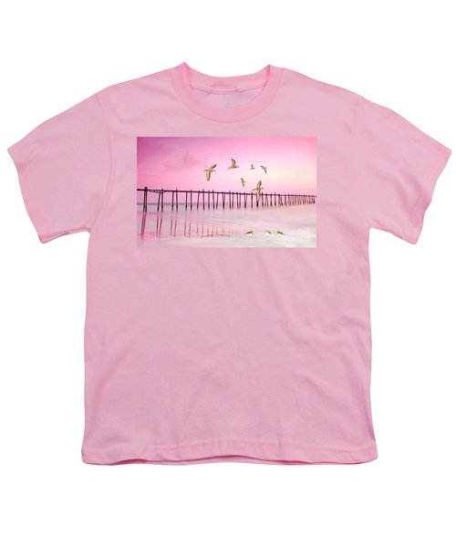 Sandpiper Sunset Youth T-Shirt