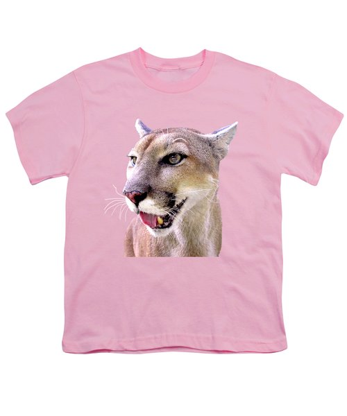 Seeing But Not Looking Youth T-Shirt by Sabrina Wheeler