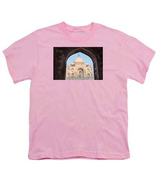 Sunrise Arches Of The Taj Mahal Youth T-Shirt
