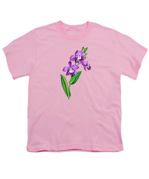 Vintage Purple  Orchidx Youth T-Shirt