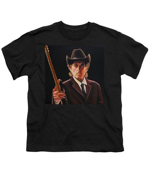 Bob Dylan 2 Youth T-Shirt by Paul Meijering