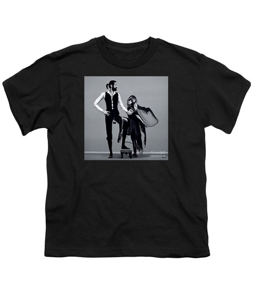 Fleetwood Mac Youth T-Shirt by Meijering Manupix