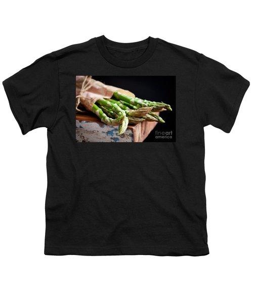 Asparagus Youth T-Shirt by Kati Molin