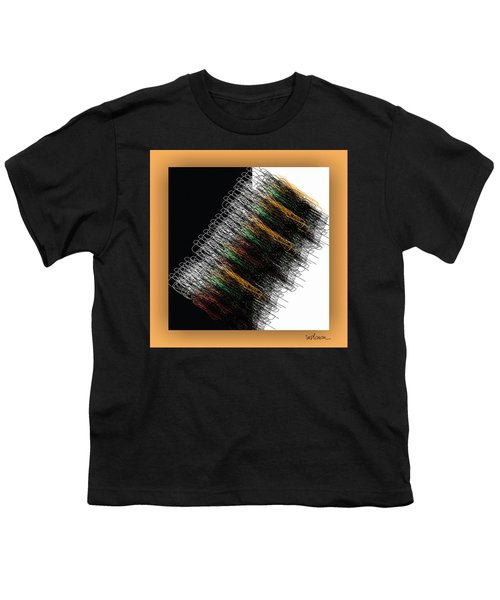 Youth T-Shirt featuring the digital art Tourbillon by Mihaela Stancu