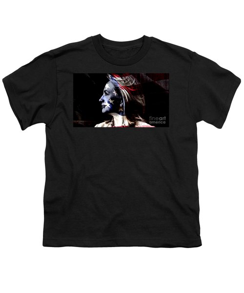 Youth T-Shirt featuring the mixed media Hillary 2016 by Marvin Blaine