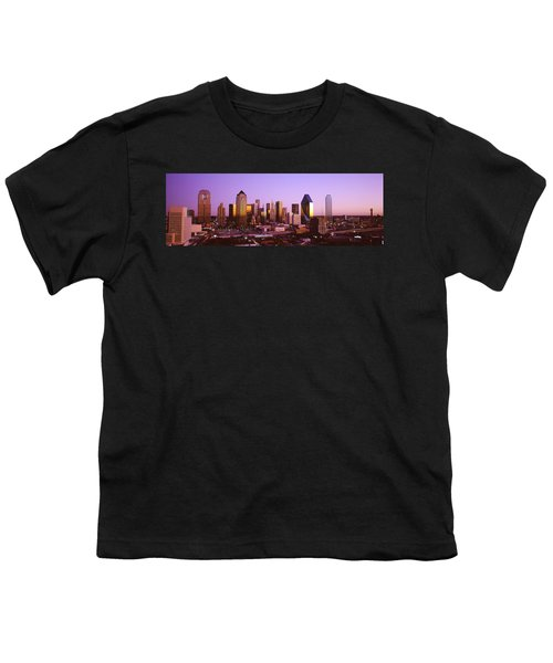 Dallas, Texas, Usa Youth T-Shirt by Panoramic Images