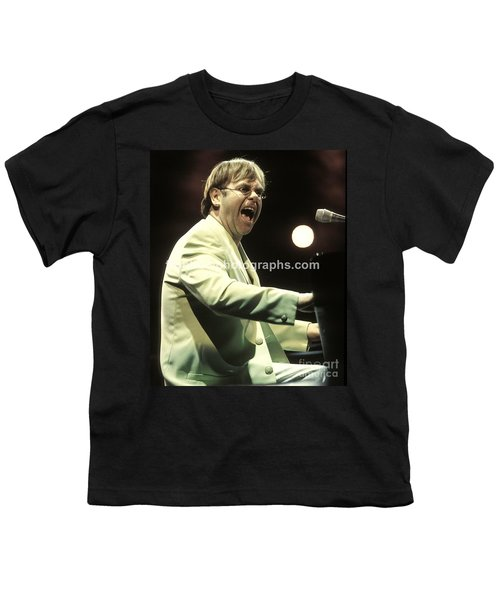 Elton John Youth T-Shirt by Concert Photos