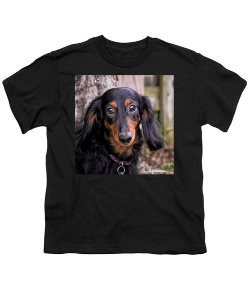 Youth T-Shirt featuring the photograph Katie by Jim Thompson