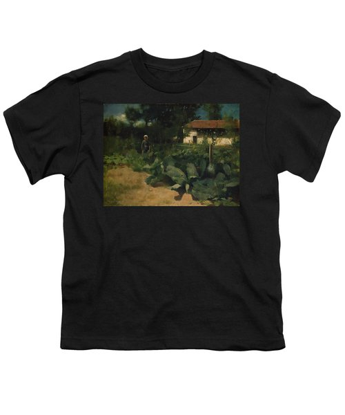 A French Kitchen Garden, 1883 Youth T-Shirt