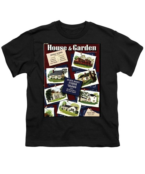 A House And Garden Cover Of Houses Youth T-Shirt
