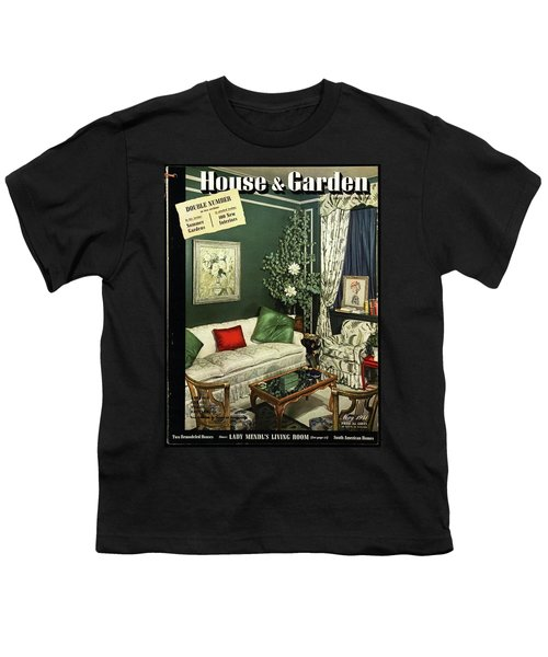 A House And Garden Cover Of Lady Mendl's Sitting Youth T-Shirt
