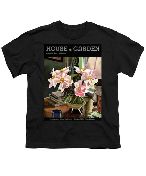 A House And Garden Cover Of Rhododendrons Youth T-Shirt