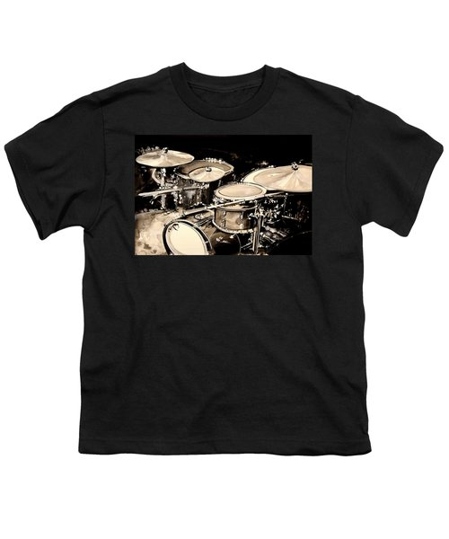 Abstract Drum Set Youth T-Shirt