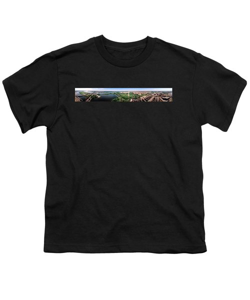 Aerial Washington Dc Usa Youth T-Shirt