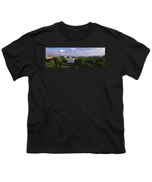 Aerial, White House, Washington Dc Youth T-Shirt