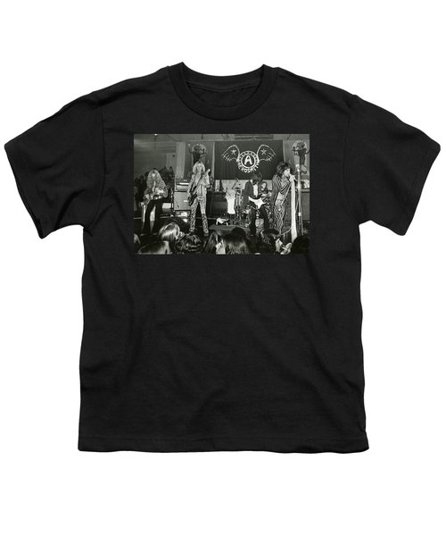 Aerosmith - Aerosmith Tour 1973 Youth T-Shirt by Epic Rights