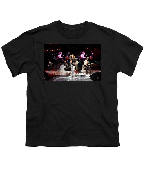 Aerosmith - Austin Texas 2012 Youth T-Shirt by Epic Rights