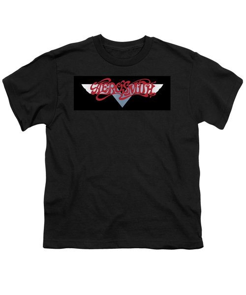 Aerosmith - Dream On Banner 1973 Youth T-Shirt by Epic Rights