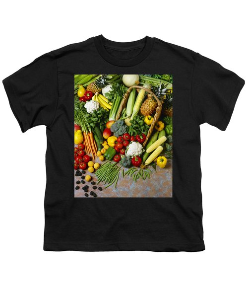 Agriculture - Mixed Fruit Youth T-Shirt