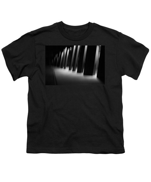 Youth T-Shirt featuring the photograph Alien Medical Research Center by Alex Lapidus