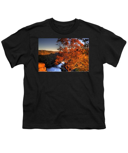 Youth T-Shirt featuring the photograph Amazing Tree At Overlook by Jonny D