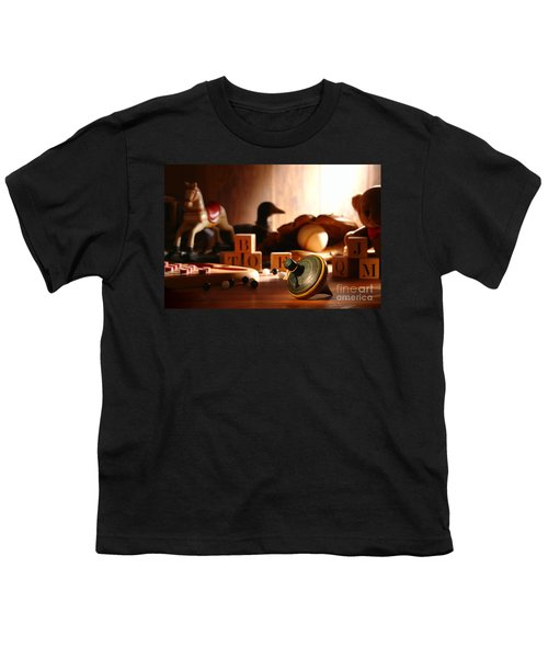 Antique Spinning Top Youth T-Shirt